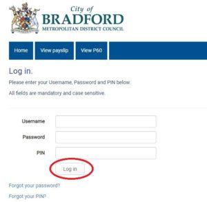 bradford council payslip