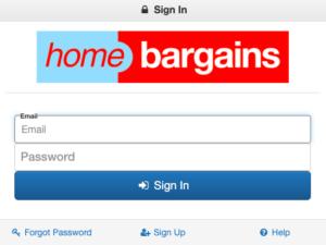 Home Bargains Portal