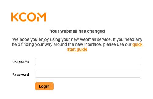 Karoo Webmail