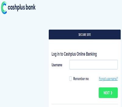 cashplus login