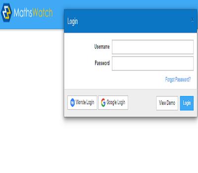 mathswatch login
