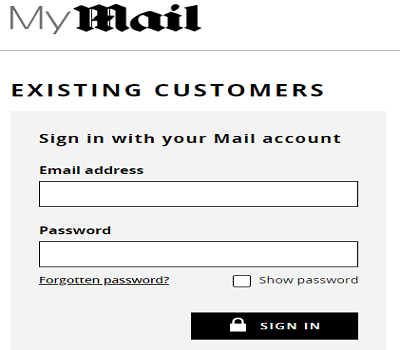 mail rewards numbers login