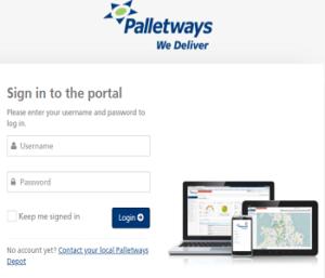 Palletways portal